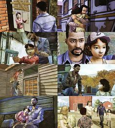 This game is the first one that made me feel so connected to the characters. I live this game; Lee and Clem are perfect <4