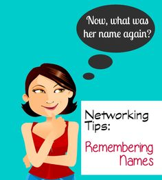 Mindset matters when remembering names — Tips for networking