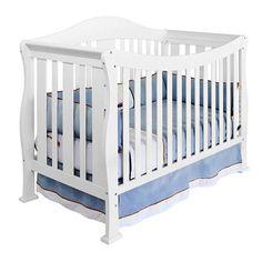 "DaVinci Parker 4-in-1 Crib with Toddler Rail - Pure White - DaVinci - Babies ""R"" Us"