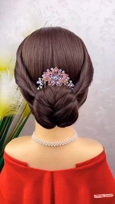 Hairdo For Long Hair, Easy Hairstyles For Long Hair, Up Hairstyles, Puff Hairstyle, Afro Wedding Hairstyles, Hair Up Styles, Medium Hair Styles, Natural Hair Styles, Natural Hair Puff