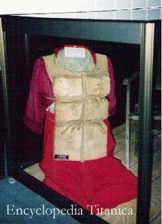 Mrs. Astor's life vest