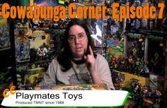 Cowabunga Corner episode 7: Going over the TMNT Playmates Toy line 1988 to 2010. http://www.cowabungacorner.com/content/cowabunga-corner-7