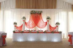 Украшение зала на свадьбу | Свадьбы в красном цвете | 914 Фото идеи