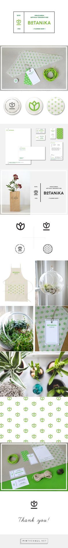Botanika Flower Shop by Rita Duczmańska | Fivestar Branding Agency – Design and Branding Agency & Curated Inspiration Gallery  #designinspiration #floristbranding #branding #fivestarbrandingagency