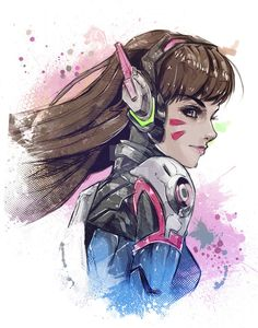 D.Va by VVernacatola