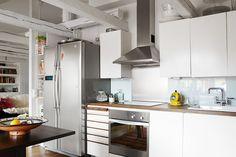 A quirky Stockholm loft