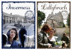 The vase, she finally got a vase, and a place to call home- Lallybroch