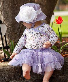 Another great find on #zulily! Purple Flower Bucket Hat by Melondipity #zulilyfinds