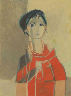Portrait de Paula by Francoise Gilot in Impressionist & Modern Art Day Sale on November 2016 at the null null sale lot 1334 Francoise Gilot, French Artists, Pablo Picasso, Art Day, Art For Sale, Impressionist, Les Oeuvres, Modern Art, Nostalgia