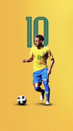 Brazil Football Team, Neymar Football, Messi Soccer, Best Football Players, World Football, Soccer Players, Soccer Art, Soccer Poster, Basketball
