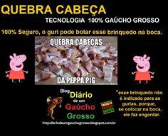 Diário de um Gaúcho Grosso: QUEBRA CABEÇA DE GAÚCHO GROSSO.. BRINQUEDOS GAUDÉR...
