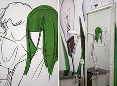 роспись в парикмахерской