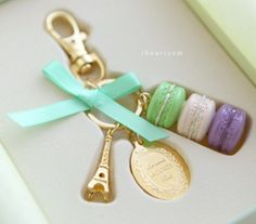 Laduree Key Chain