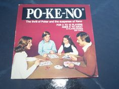 Vintage POKENO Game Po Ke No Poker or Keno by ABCVintageFinds, $12.50 We spent hours playing this game as kids!!