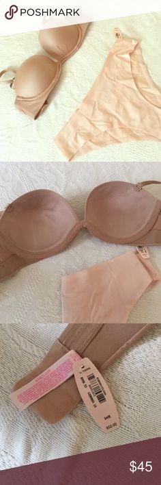 Victoria secret bundle 😍🎀 BOTH NWT Panties : MÉDIUM & Bra :34B Victoria's Secret Intimates & Sleepwear Bras