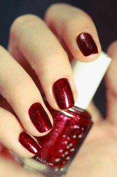Essie leading lady---a great shade of red for Valentines.