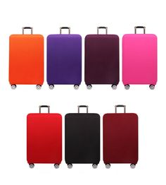 Elastic Colorful Luggage Cover for Travel - Flights-Hotel-Accommodation