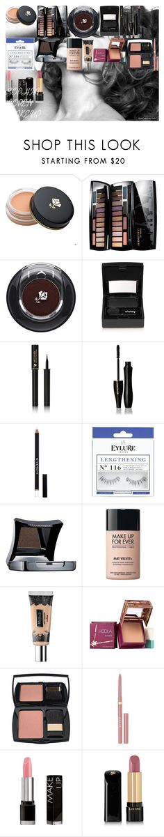 """SOPHIA LOREN MAKEUP"" by oroartye-1 on Polyvore featuring beauty, Lancôme, Sisley, Givenchy, eylure, Illamasqua, MAKE UP FOR EVER, Kat Von D, Hoola and Stila"