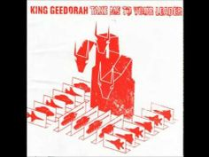 """King Geedorah is yet another alias of Daniel Dumile (AKA MF Doom). And like just about all of his output, this one doesn't disappoint. Sample-wise, """"Take Me To Your Leader"""" does for Godzilla what Doom's """"Mm.. Food"""" did for The Fantastic Four. Brilliant, lo-fi samples & an interesting cadre of rap geniuses. He teams up with his former partner MF Grimm (who assumes the alias Jet-Jaguar) & Kurious (who goes by Biolante, but can be traced as far back as 3rd Bass' """"Pop Goes The Weasel"""")."""