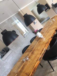 Inspiration: Spisebord + lamper Dream Home Design, House Design, Conference Room, Rooms, Inspiration, Living Room, Table, Furniture, Home Decor