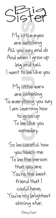 Little Sister Quotes | little and BIG sister