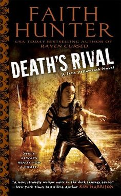 Cover Reveal: Death's Rival (Jane Yellowrock #5) by Faith Hunter