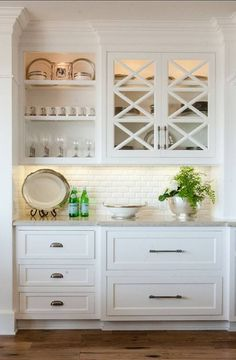 Bar like the depth change of cabinets