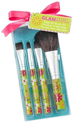 "Kate Aspen Just Girls ""Glam Girl"" Makeup Brush Set Kateaspen $7.35. My Brush Betty. #welovemakeupbrushes"