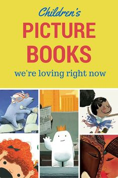 The best children's picture books that my 8 year son and I are BOTH loving right now.