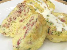 Omelete de Forno do Mais Você ♥