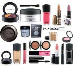 Maquillaje / cosmeticos por lote mac- revlon - loreal - clinique y ropa