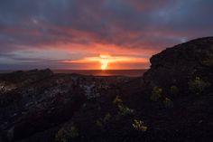 Volcano Sunset Mauna Ulu