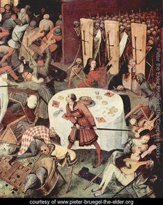 Pieter Bruegel the Elder, Dutch and Flemish, The Triumph of Death (detail) Oil on panel, width of detail 43 cm. Jan Van Eyck, Costume Renaissance, Renaissance Art, Sgraffito, Pieter Brueghel El Viejo, Creepy History, Pieter Bruegel The Elder, Landsknecht, Hieronymus Bosch