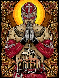 Chris Parks, American Artist, Inspired By Mexican Luchador Culture and Religious Icons (PHOTOS) | The Huffington Post