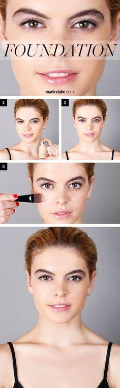 Makeup How-To: Apply Foundation  - MarieClaire.com