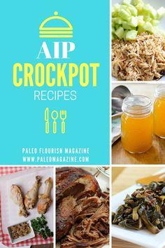 47 AIP Crockpot Recipes #AIP #autoimmune #paleo #slowcooker #recipes #crockpot https://paleomagazine.com/AIP-crockpot-recipes