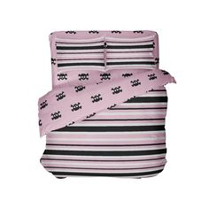 Sleep comfortably and in style in our super comfy, premium quality, Made in USA & Eco friendly preppy lifestyle comforter and sheet set from Extremely Stoke Preppy Bedding, Black Stripes, Pink Black, Sheet Sets, Comforter Sets, Comforters, Skull, Comfy, Snowboard