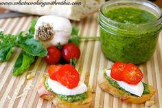 Pesto Bruschetta Recipe