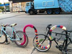 Logan Square Yarn Bomb