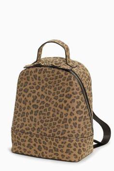 Buy Leopard Print Mini Rucksack from the Next UK online shop