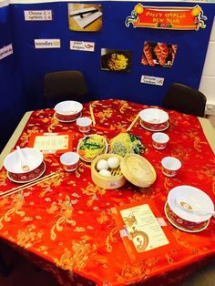 Chinese takeaway/restaurant role play area! In reception we have been learning about chinese new year, the vocabulary and motor skills practised was great!