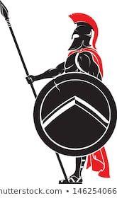 Spartan Warrior, Viking Warrior, Norse Tattoo, Viking Tattoos, Shield Drawing, Shoulder Armor Tattoo, Spartan Tattoo, Roman Warriors, Coach Sportif