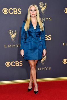 9/17/17 - Reese Witherspoon at the 69th Annual Primetime Emmy Awards in LA.