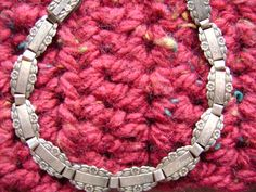 1910's20's Sterling Forget me Not  Frienship Bracelet by FauxReal4, $65.00