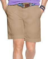 Polo Ralph Lauren Classic-Fit Flat-Front Chino Short