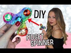 FIDGET SPINNER DIY - Deutsch + MAC VERLOSUNG! Fidget Spinner selbst bauen - DIY 2017 - YouTube