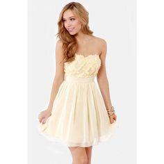 REASON TO CELEBRATE BEIGE SEQUIN DRESS