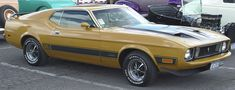 """When most people think about """"Eleanor"""" in terms of cars, they think of the 1967 Shelby GT500 made famous by Nicolas Cage in the 2000 version of """"Gone in 60 Seconds."""" The original, trademarked Eleanor is the 1973 Ford Mustang Mach 1 from the 1974 version of the movie."""