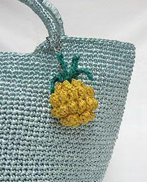 Free crochet pattern for pineapple charm
