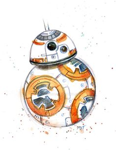A quick sketch of BB-8 I did!